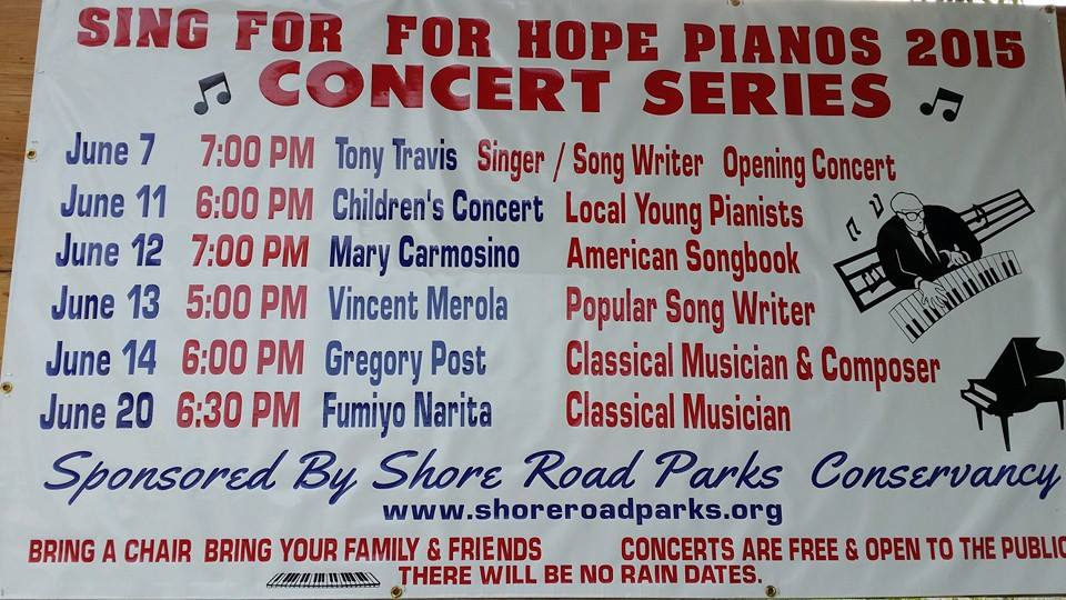 Shore Road concert Ad June 15
